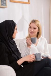 Multicultural friendship beetween girls