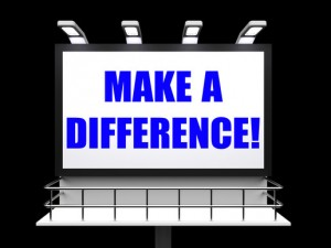 Single people should make a difference in society by devoting oneself to a cause or to one's community.