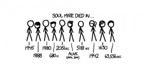 Science of Soul Mates XKCD
