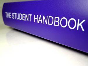 College student handbook