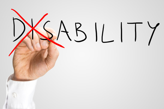 Overcoming a disability.