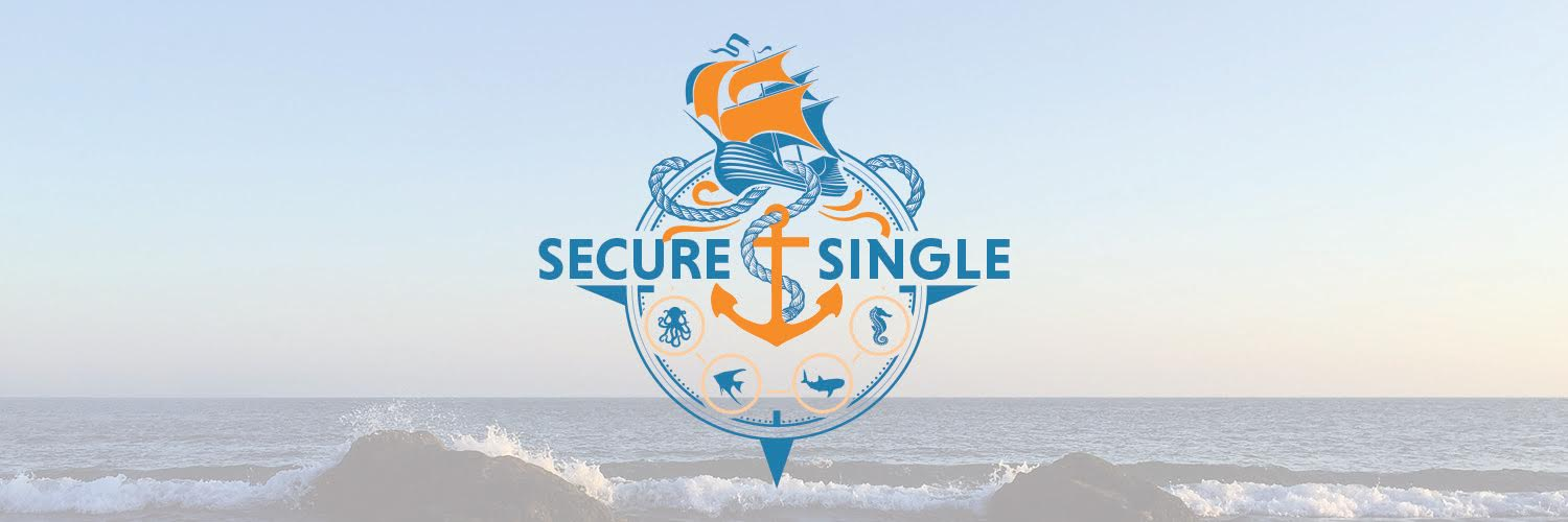 Secure Single Nautical Logo