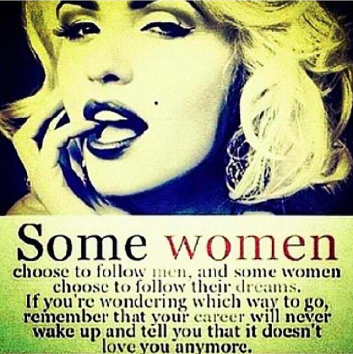 Single Women and Following Dreams Instead of Men