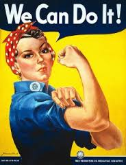 Rosie the Riveter, 'We Can Do It!'
