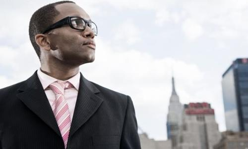 Single Goal Oriented African American Man
