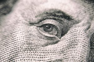 Benjamin Franklin Money Eyes