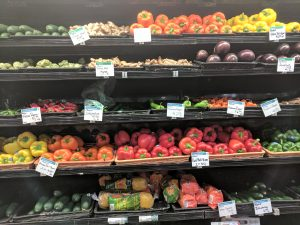 Variety of Vegetables Shopping for One
