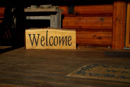Host Welcome Guest in Home