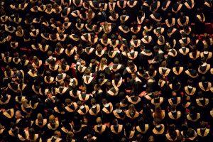 Graduating College Class