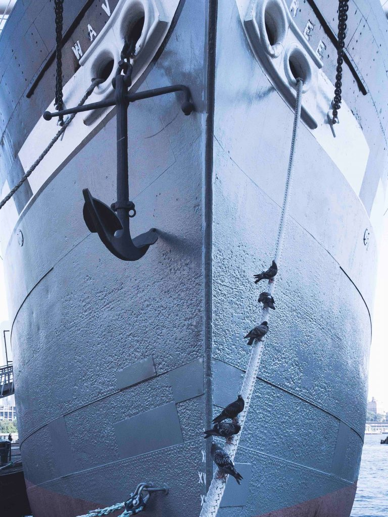 Anchor on Boat Security