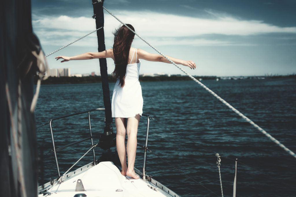 Woman Captain of Own Ship