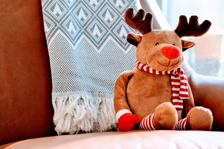 Rudolph Doll Christmas Alone