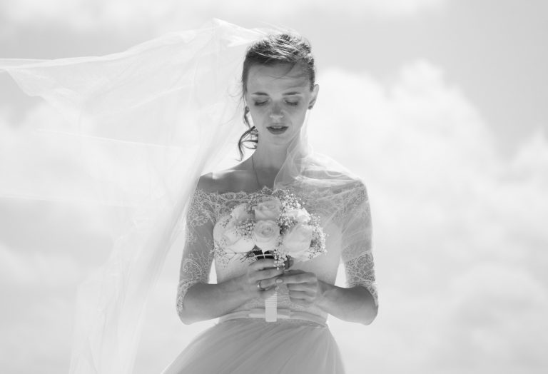 Sad Bride Marriage Family Pressure