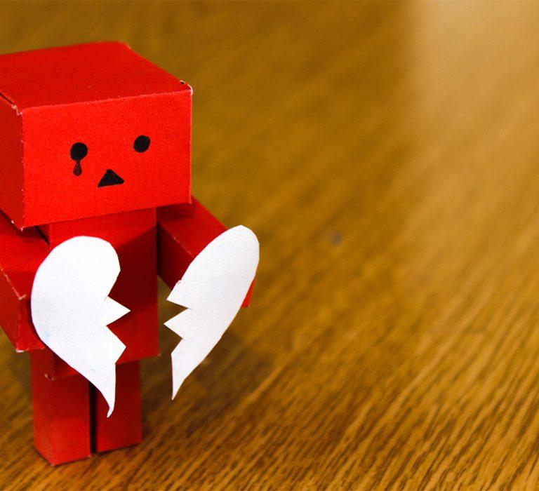 broken hearted divorced character