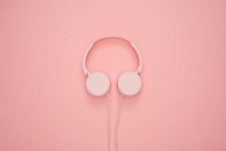 benefits of self love relax pink headphones