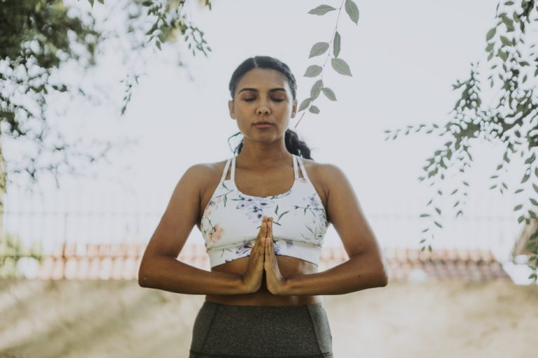How To Trust Again women meditating