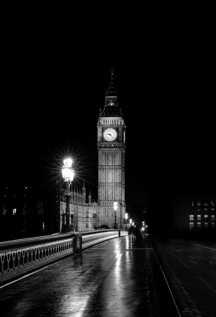 architecture-big-ben-black-and-white-280249