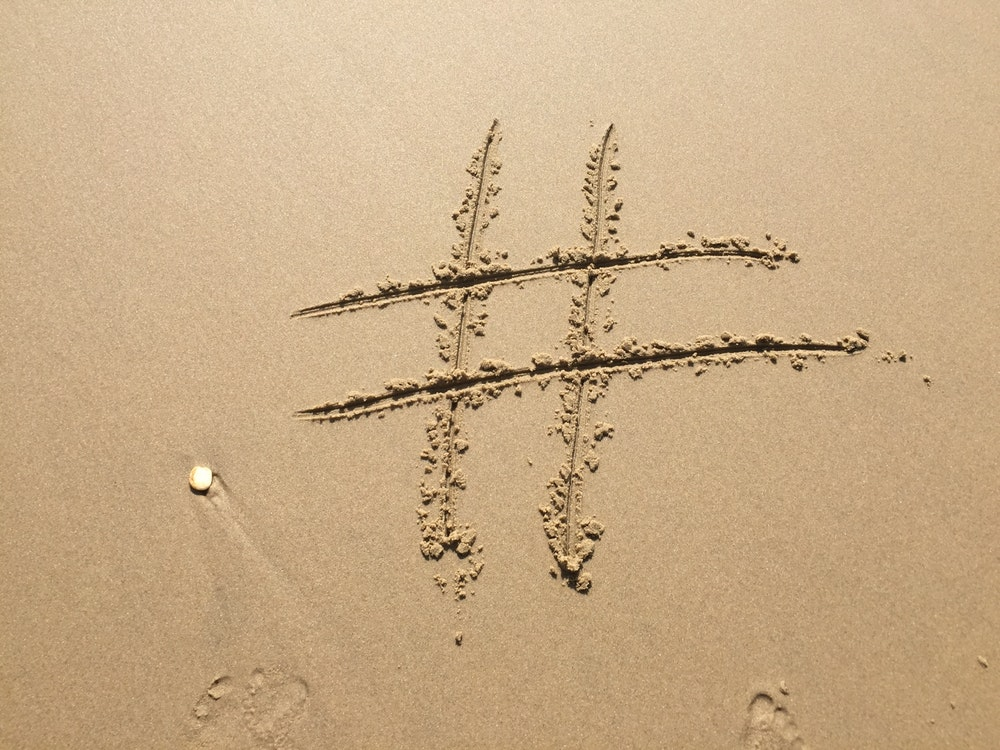 beach-footprint-hashtag