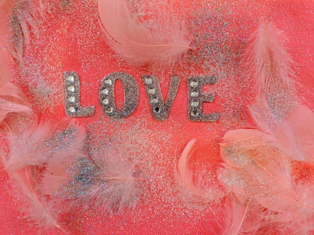 glitter love pic